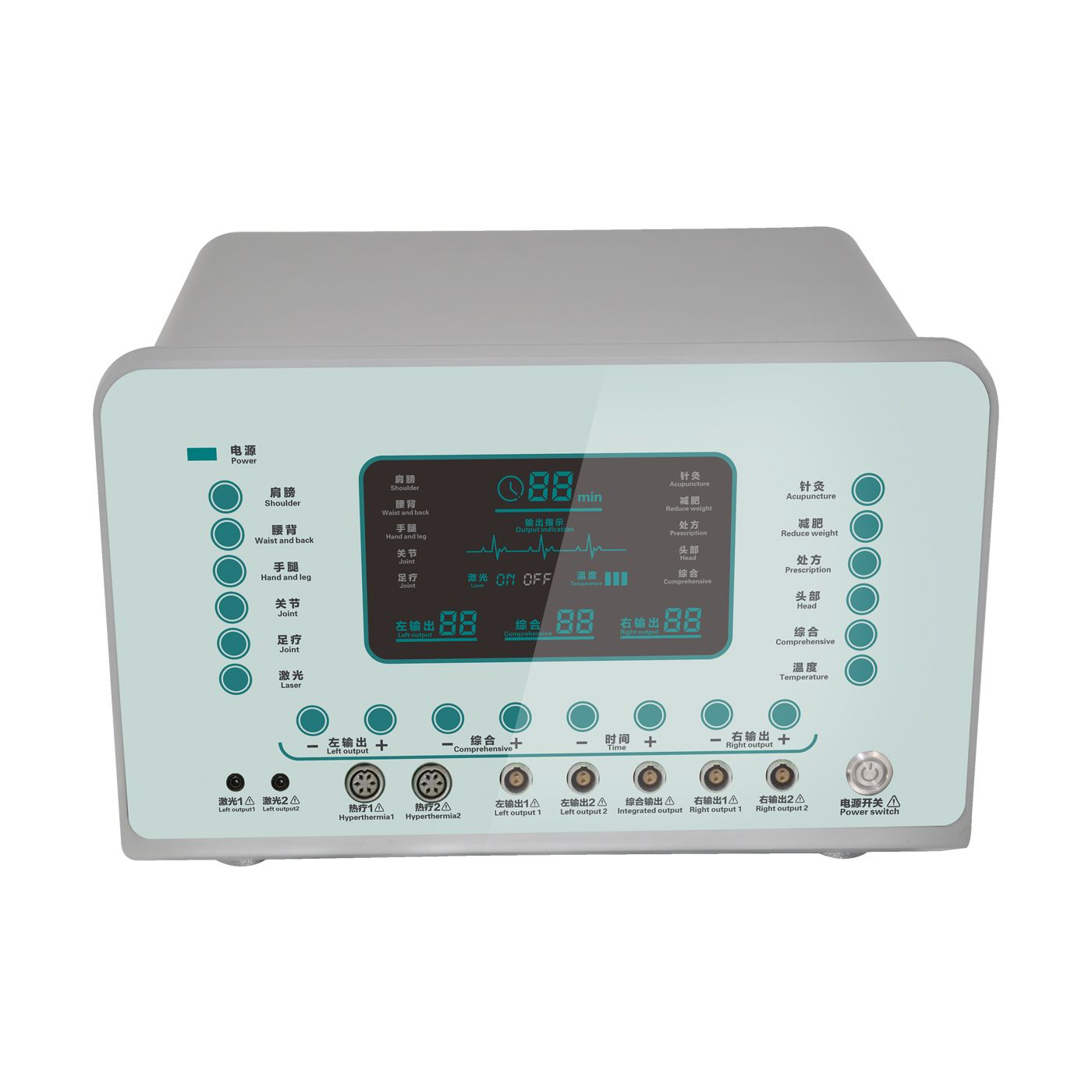 Medium frequency electrotherapy